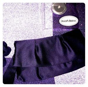 Davids Bridal Lapis Purple Handbag